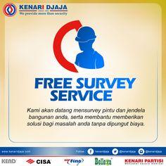 KENARI DJAJA memberikan Layanan Survey secara GRATIS guna Membantu memberikan solusi untuk masalah pintu dan jendela anda.  Informasi Hub. : Ibu Tika 0812 8567 7070 ( WA / Telpon / SMS ) 0819 0506 7171 ( Telpon / SMS )  Email : digitalmarketing@kenaridjaja.co.id  [ K E N A R I D J A J A ] PELOPOR PERLENGKAPAN PINTU DAN JENDELA SEJAK TAHUN 1965  SHOWROOM :  JAKARTA & TANGERANG 1 Graha Mas Kebun Jeruk Blok C5-6 Telp : (021) 536 3506, Fax : (021) 530 0592  2 Jl. Pinangsi..