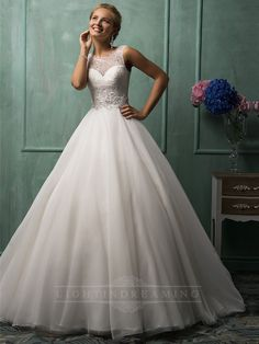 Lace, Illusion, Lots and Lots of Tulle~What else could any Bride Dream of? #InspirationForBridalGown
