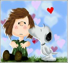 Peanuts gang love oh snoopy!!!