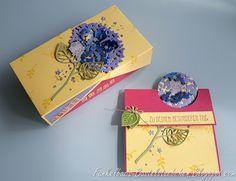 Wald ohne Worte, Flip Fold Card, Double Flip Gift Box, Geburtstagskarte, Birthday, stampin up,