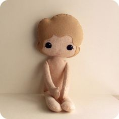new doll wip by Gingermelon, via Flickr