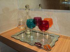 decoração com taças coloridas - Pesquisa Google