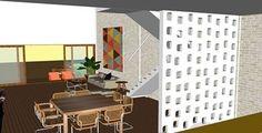 Detalhe Cobogó - Casa Bomfim RN- 2013