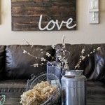 love - re-purposing old wood