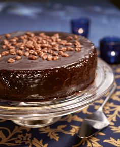 Luumu-suklaakakku | Joulu | Pirkka #food #christmas #joulu Christmas Kitchen, Dessert Recipes, Desserts, Sweet Recipes, Pudding, Chocolate, Baking, Motion, Food