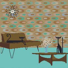 Kerry Beary cross stitch pattern 8