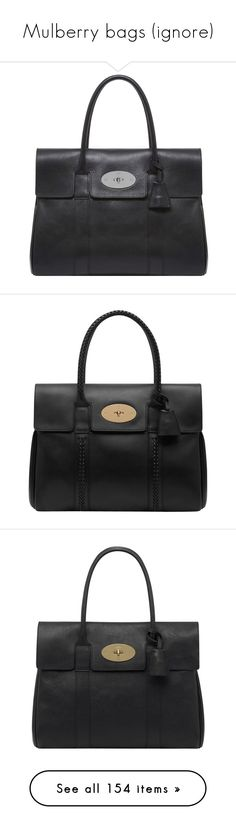 """""""Mulberry bags (ignore)"""" by susannem ❤ liked on Polyvore featuring bags, handbags, mulberry, purses, real leather purses, purse pouch, leather hand bags, leather pouch, man bag and bolsas"""