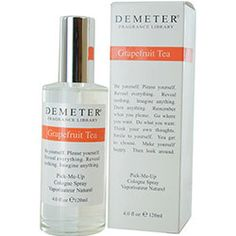 DEMETER by Demeter - GRAPEFRUIT TEA COLOGNE SPRAY 4 OZ