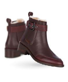 EMU Australia Claret Medlow Waterproof Leather Boot - Women | zulily