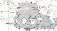 Mechanic Design I've done for Generator Rex They've used my storyboards as actual guide of design for Korean Studio Courtesy to Cartoon Network