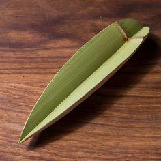Handmade Natural Green Bamboo Tea Scoop
