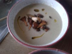 Pilzsuppe