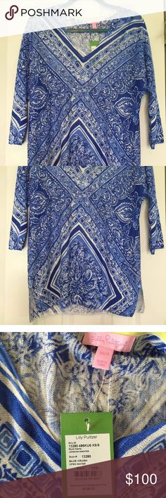 Lilly Pulitzer top size XS/S NWT Beautiful Lilly Pulitzer top XS/S. Great lightweight shirt for any season! New with tags. Lilly Pulitzer Tops Blouses