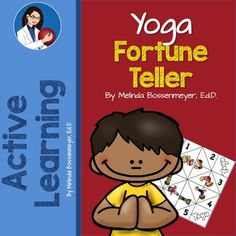 Use the Yoga Fortune Teller Game to determine the choice of yoga movement children will perform. #playmatters