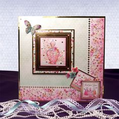 Fluttering Pearl Page 2 | Hunkydory Crafts