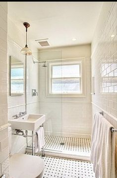 BATHROOM: subway tile Oh how I love this!!!!!