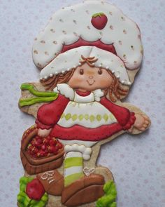 Strawberry Shortcake Characters, Vintage Strawberry Shortcake, Baby Quilts, Childhood Memories, Berries, Nostalgia, Cookies, Awesome, Sweet
