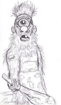 My Friend Tims Trog drawing