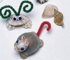 Seashell Creatures Craft Kit (makes 50)