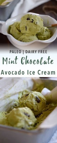 Mint Avocado Ice Cream | Empowered Sustenance