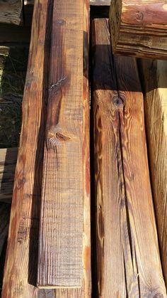 bontott fenyőfa gerenda