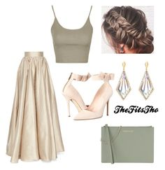 """""""Untitled #53"""" by thefitstho on Polyvore featuring Jenny Packham, She Adorns, Topshop, Kate Spade and Armani Jeans"""