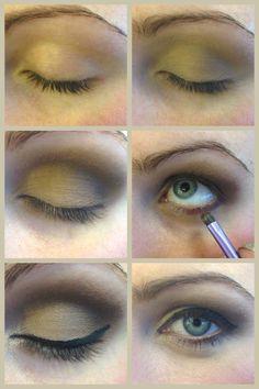 Step by step neutral smokey eye tutorial makeup