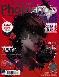 advanced photoshop mag cover