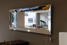 Accesorios- Espejo para Comedor- Marca Mobles & Architecture Entry Mirror, Mirror Art, Diy Mirror, Mirrors, Mirrored Coffee Tables, Mirror Inspiration, Home Furnishings, Living Room Decor, Sweet Home