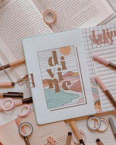 Bullet Journal Lettering Ideas, Bullet Journal Notes, Bullet Journal Aesthetic, Bullet Journal Writing, Bullet Journal School, Bullet Journal Spread, Bullet Journal Ideas Pages, Art Journal Pages, Fancy Writing