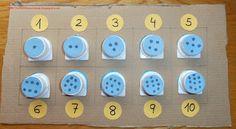 Soñando sonrisas...: Lógica-matemática con materiales de desecho.