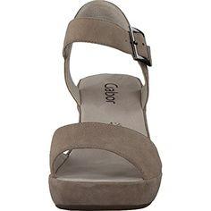 Gabor 45-751 Schuhe Damen Sandalen Plateau Sandaletten Weite F, Schuhgröße:39;Farbe:Beige - http://on-line-kaufen.de/gabor/6-uk-gabor-fashion-damenschuhe-45-751-damen-2