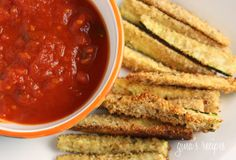 Weight Watchers marinara and Zuccini sticks! what?!