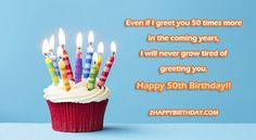 Buy Birthday cupcake by RuthBlack on PhotoDune. Birthday cupcake against a blue background Happy Birthday Cupcakes, Happy 50th Birthday, Happy Birthday Images, It's Your Birthday, Best Wishes Messages, Birthday Wishes Messages, Birthday Greetings, Facebook Birthday, Ideas