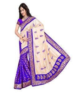 77c7f0a0db Vishnupriya Fabs fancy bhagalpuri silk saree at Rs. 349