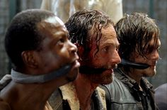 The moment our hearts were pounding #TWD