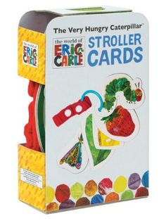 The Very Hungry Caterpillar Stroller Cards (World of Eric Carle) by Eric Carle, http://www.amazon.com/dp/1452114471/ref=cm_sw_r_pi_dp_DTtMrb01BAMRW