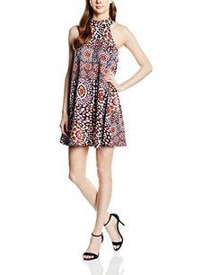 Vero Moda - Vestido multicolor  Vestido corto de lineas sencillas, prácticos para vestir informal.  Si te gusta lucir piernas con este vestido es perfecto para ti.