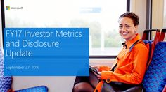 Microsoft to Add New Investor Metrics to SEC Filings next Month: Microsoft's new investor metrics will include gaming revenue, Windows…