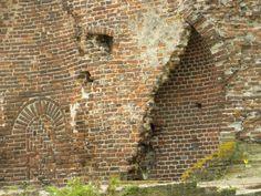 Deel van de ruine slot Batenburg