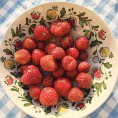 Fresh picked strawberries from the garden- Em Jai Faim, Just In Case, Just For You, Dream Life, In This World, Matilda, Picnic, Cottage, Baking
