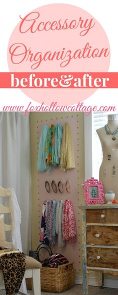 Before and After - Accessory Organization with @Patricia Smith Roughen #ad