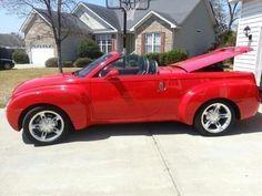 Chevrolet 55R, red.