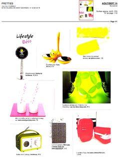 Mini labo, Pretties Magazine, Août-Septembre 2014