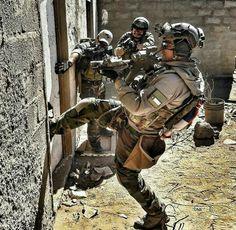 military shot