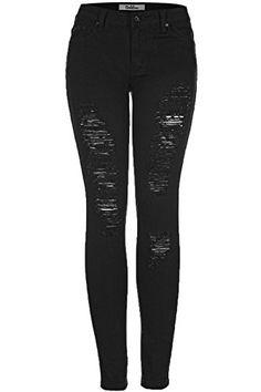 2LUV Women's Distressed Skinny Jeans Black 11 (G778A) 2LUV https://www.amazon.com/dp/B00LXL27II/ref=cm_sw_r_pi_dp_Ds6JxbWTNN44F
