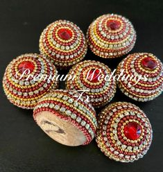 Diy Diwali Decorations, Indian Wedding Decorations, Coconut Decoration, Indian Wedding Poses, Ganpati Decoration At Home, Creative Wedding Gifts, Diwali Diy, Pottery Painting Designs, Ring Pillow Wedding