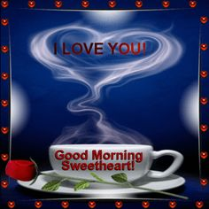 Send your sweetheart a romantic #goodmorning wish with this #ecard. www.123greetings.com