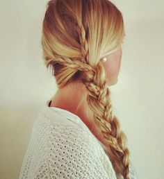 I am definitley going to try this. It is a very easy but hair style for when your running late or just lazy.