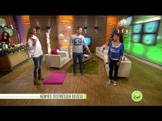 Zsírégető és alakformáló gyakorlatok otthonra - 2014.12.04. - tv2.hu/fem3cafe - YouTube